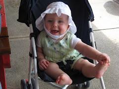 Hazel at 7 1/2 months