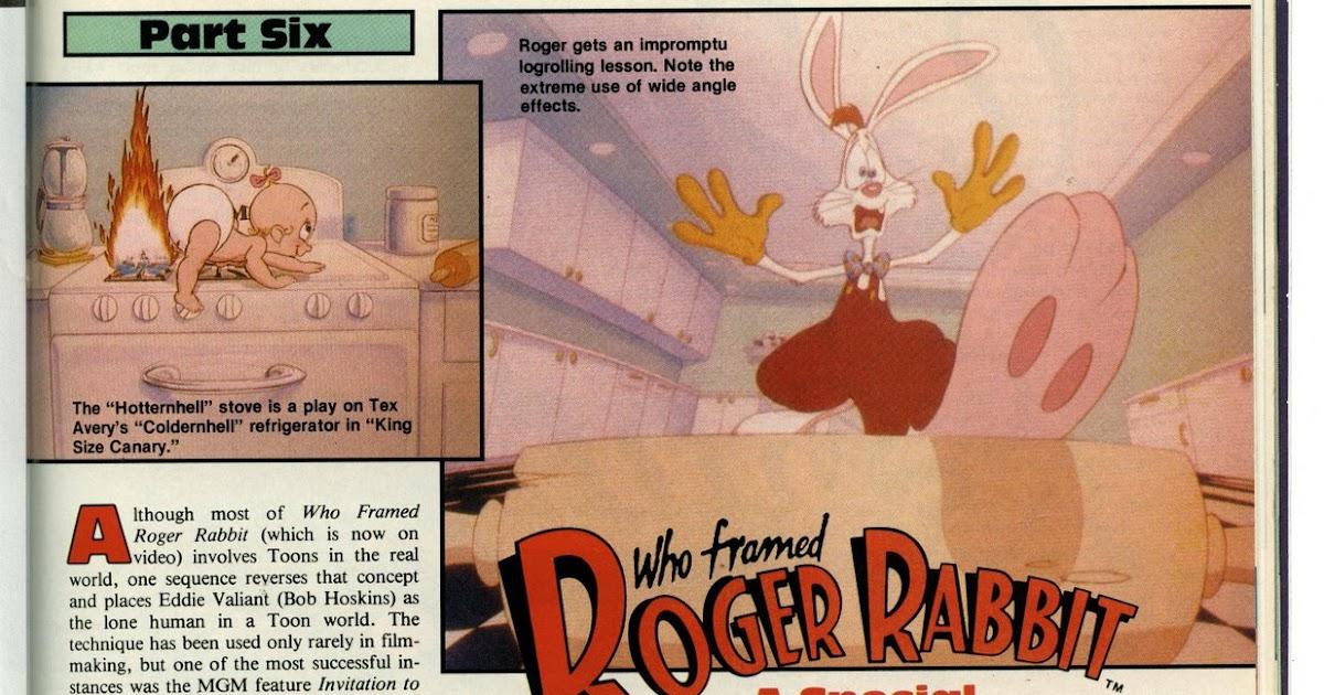 John P.\'s blog: 20 years of Who Framed Roger Rabbit