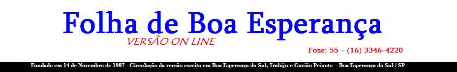 Folha de Boa Esperança On Line