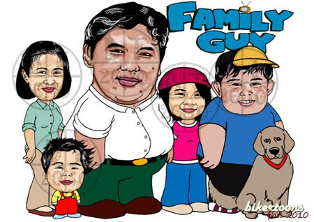 """Real-life """" Family Guy """" Alexander Diosomito and the rest of the"""