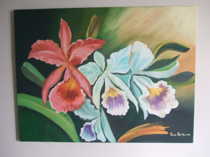 orquideas, este quadro ja foi vendido.