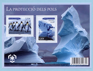 French Andorra 2009 Preserve the Polar Regions