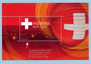 Switzerland 100 Years Pro Patria