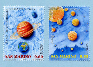 San Marino Europa 2009 Astronomy
