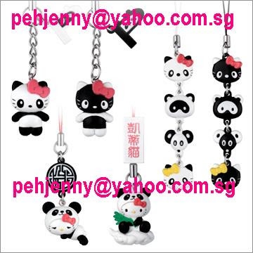 (a) Panda Hello Kitty Sitting on Cloud - S$3.50 each Sold out