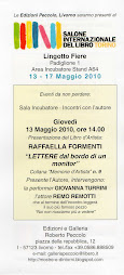 13 maggio 2010 PRESENTAZIONE Libro