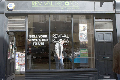 Revival Records, also in Soho, has a large selection of used records in most genres.