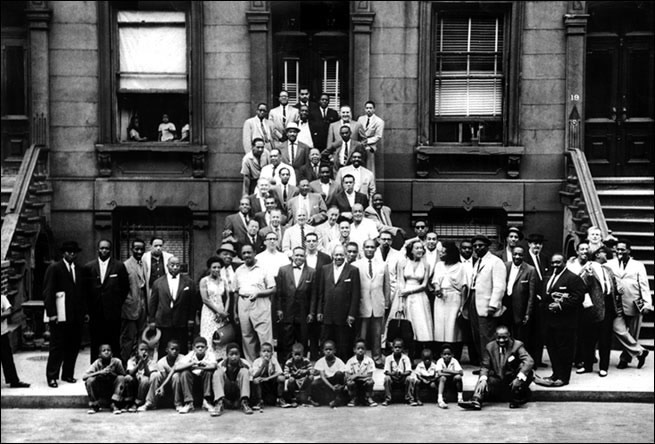 Great Day In Harlem besides Friends Of Milt Hinton also Musicians further A Great Day In Harlem 1958 further 5429 George Wallington Trios  plete Sessions 1949 1956 2 Cd Set. on oscar pettiford and harlem