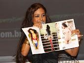Larissa esta con la 'PANCHULA' depilada en la revista PLAYBOY