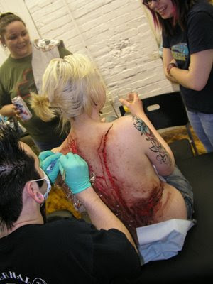 scarification tattoo. scarification tattoo.