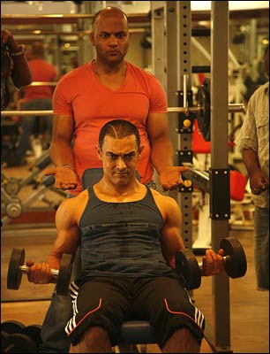 Workout for Ghajini