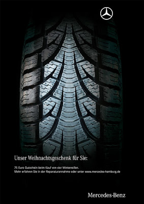 Mercedes-Benz: Christmas tree