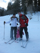 The Gray's on the slopes