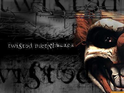 Black Metal Wallpaper. Wallpaper Twisted Metal Black