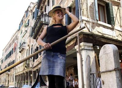 威尼斯 辣妹船夫 - 威尼斯 水都辣妹船夫 Giorgia Boscolo