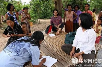 柬埔寨 女人島 - 沒有男人的 柬埔寨 女人島