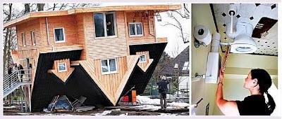 上下顛倒房子 - 全球首棟上下顛倒房子