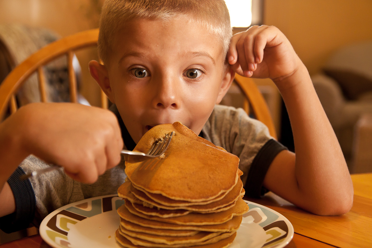 Pancakes Come From Heaven - Poem by Brenda McGrath