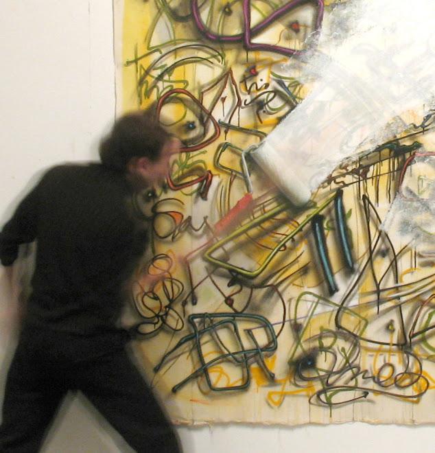 tres acciones sobre graffiti (detalle)