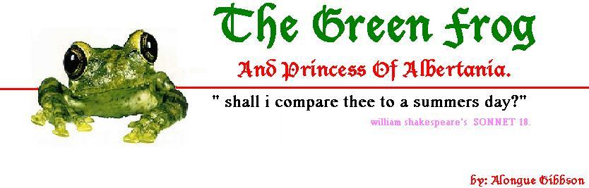 ThE GreeN FroG AnD PrinCess oF AlbErTaNia
