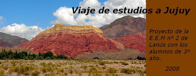 Viaje de estudios a Jujuy