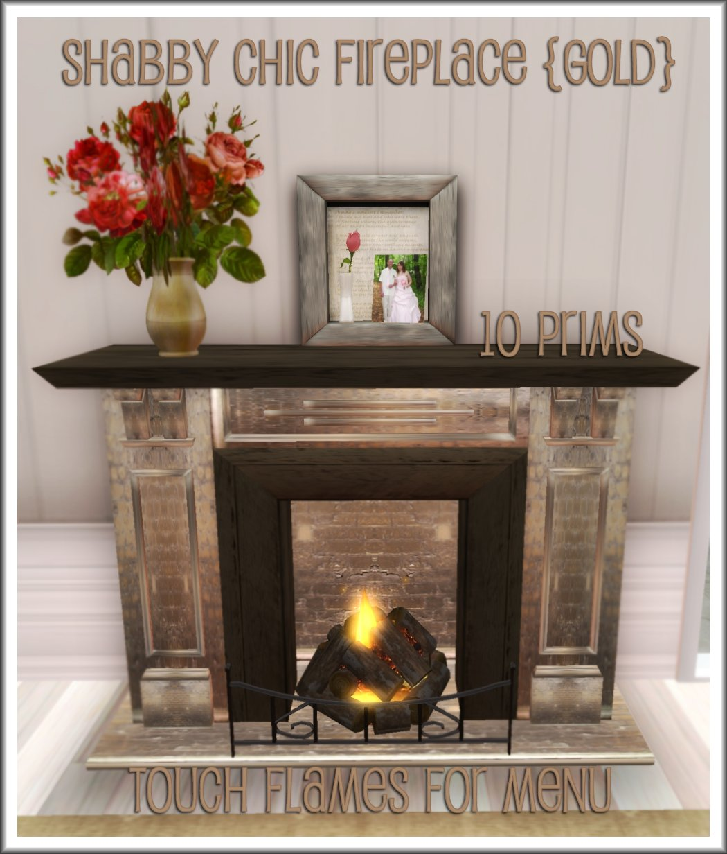 La'Licious Designs: *NEW* Shabby Chic Family Living Room & Fireplace!