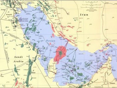 The Above Map Is A Closeup Of The Persian Gulf From A 2007 Cia Rendering Of Middle Eastern Oil Fields Giving Us A Yet Finer Grain Than The Two Previous