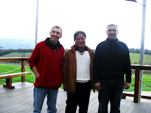 With the wine maker and Mr.Lee from Korea