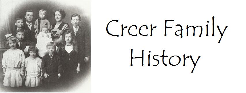 Creer Family History