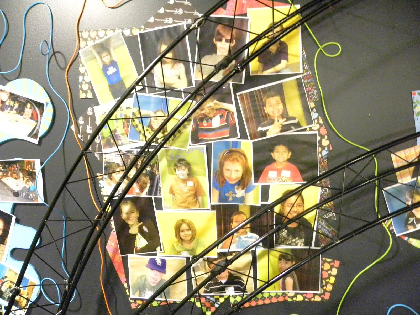 Celebration KIDS: Kids Church Decor Idea: Giant Collages