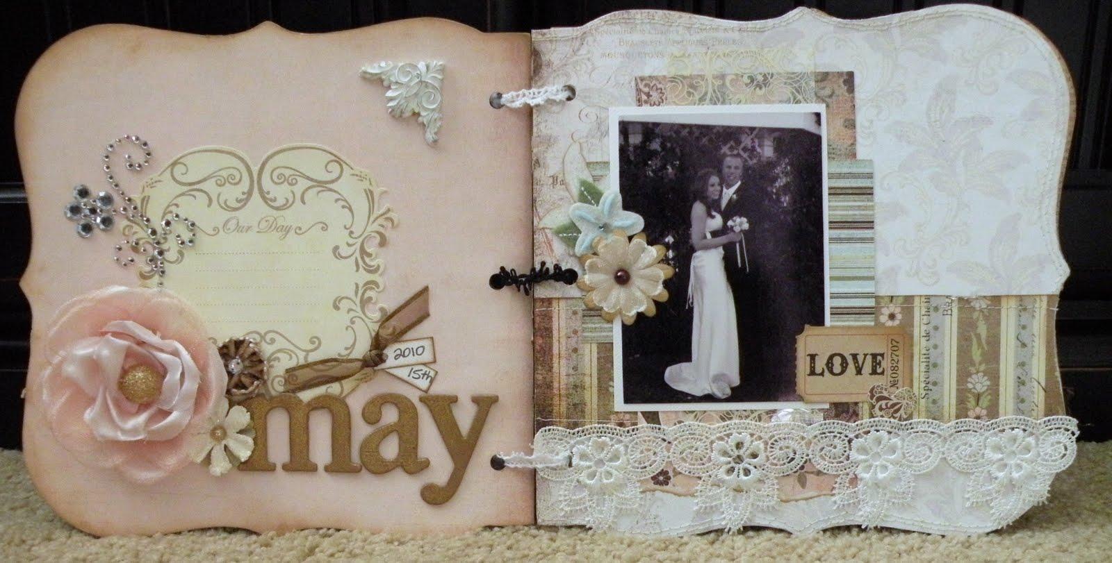 Scrappy Stuff Wedding Scrapbook Album
