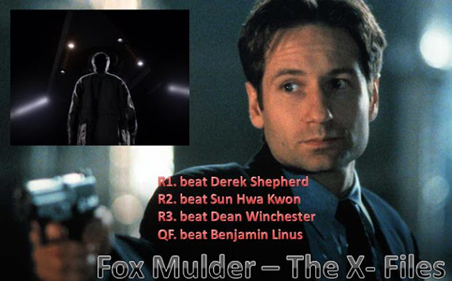 Fox Mulder (The X-Files) vs. Jack Shephard (LOST) - 2010 Character Competition Semi Final 1