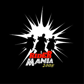 RiderMania 2008 logo, Royal Enfield Motorcycles
