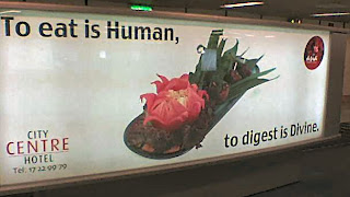 To digest is divine?