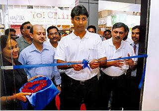 Rajeev Bajaj inaugurated the Bajaj Pro-Biking Showroom in Delhi