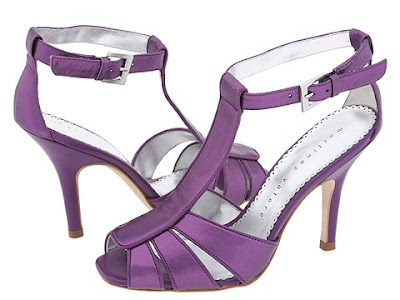 Sexy Purple Shoes from Martinez Valero