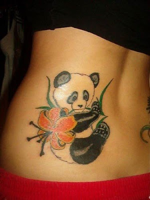 panda bear tattoos