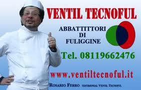 LOGO PUBBLICITARIO VENTILTECNOFUL SRL ABBATTITORI DI FULIGGINE.