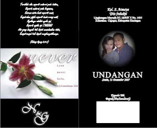 Handcreative Sample Undangan Pernikahan