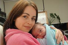 Eu e a mamã (em casa)