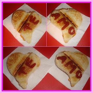 Declaração de amor em forma de sanduíche