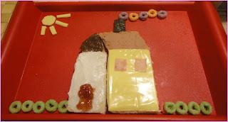 Sanduíche de casinha