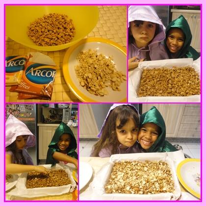 receita de Barra de cereal feita em casa