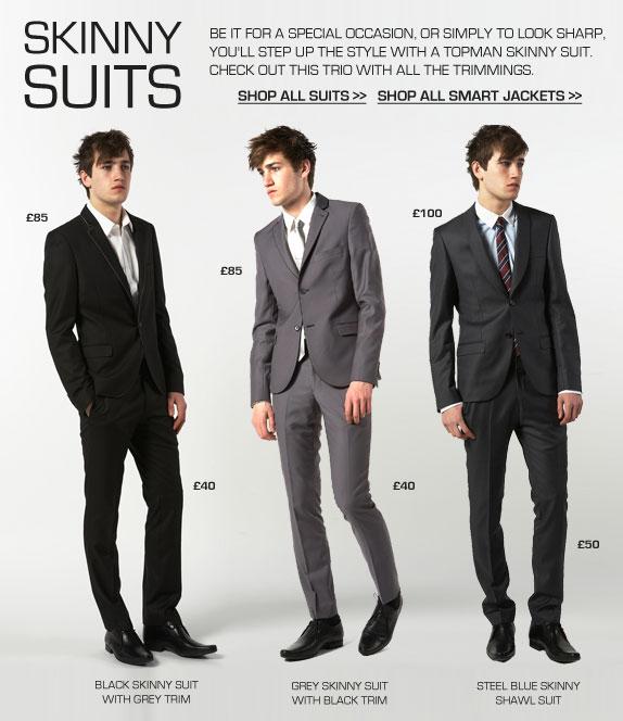Men 39 S Fashion Style Aficionado Skinny Suits Just In