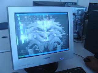 Imagem do computador com a Ferramenta 3D