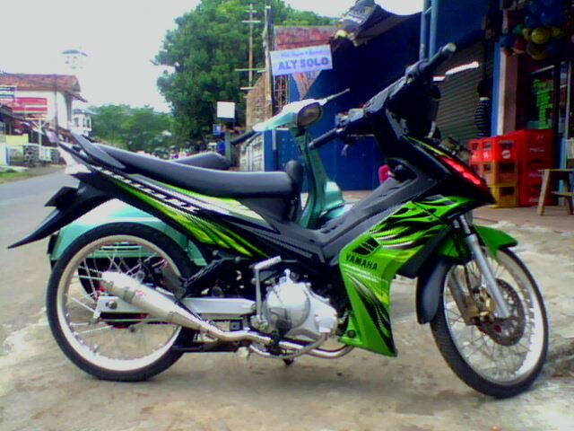 modifikasi motor jupier mx title=