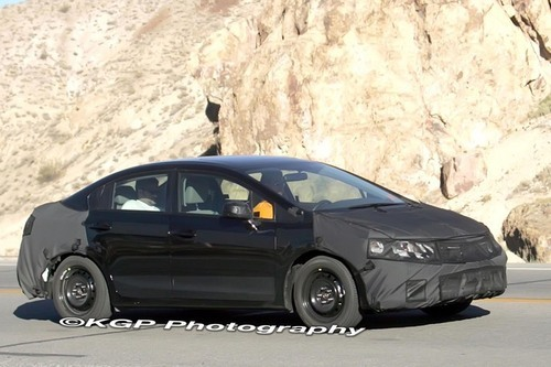 honda 2012 civic sedan. Honda civic 2012 cars spy