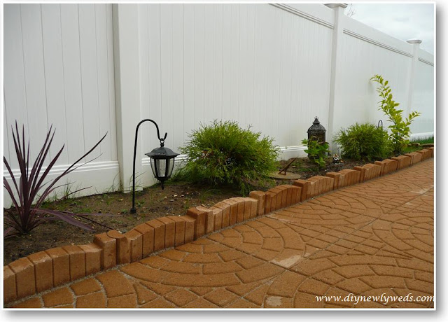 paver patio edge