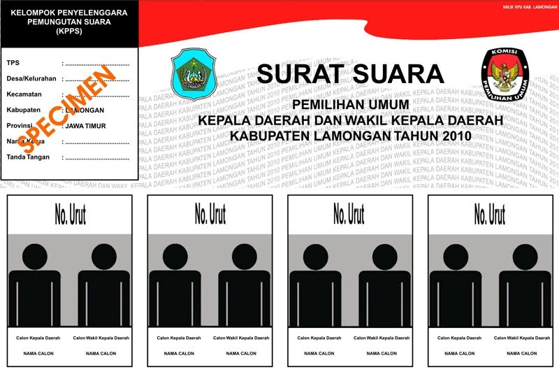 Image Result For Surat Suara