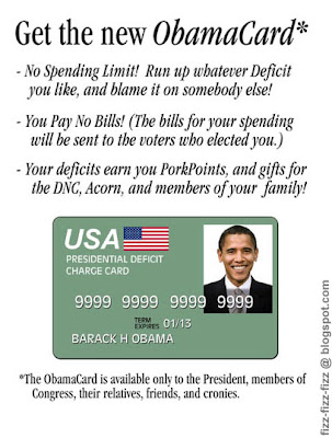 Unlimited Deficits with Barack's New Obamacard